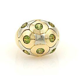 Bulgari Peridot Ring Size 7.5