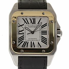 Cartier Santos 100 W20072X7 38.0mm Mens Watch