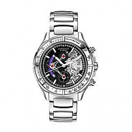 Versace DV One Skeleton VK801 0013 44mm Mens Watch