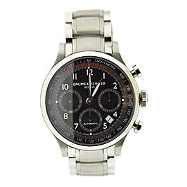 Baume & Mercier Chronograph 65726 42mm Mens Watch