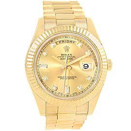 Rolex Day-Date II President 218238 41mm Mens Watch