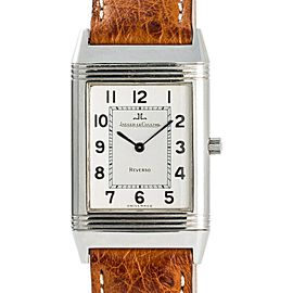 Jaeger-LeCoulture Reverso 250.8.86 Mens Hand Winding Watch SS 23mm