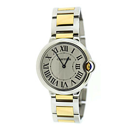 Cartier Ballon Bleu 18K/Stainless Steel Watch W69008Z3