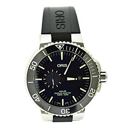 Oris Aquis Blue Dial Stainless Steel Watch 7733