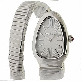 Bvlgari Serpenti SP35C6SS.1T 35mm Steel Silver
