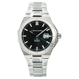 Concord Mariner 05.1.14.1140 Mens Automatic Watch With Box & Papers SS 43mm