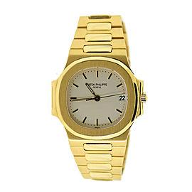 Patek Philippe Nautilus 18K Yellow Gold Watch 3800/1