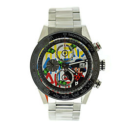 Tag Heuer Carrera Alec Monopoly Stainless Steel Watch CAR201AA.BA0714