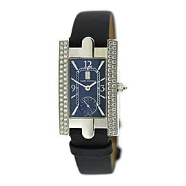 Harry Winston Avenue Diamond 18K White Gold Watch 310LQW
