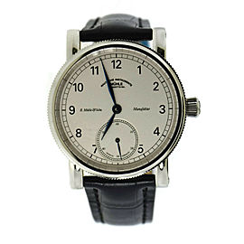 Muhle Glashutte Sekunde Stainless Steel Watch M1-11-05-100LB