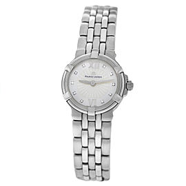 New Lady Maurice Lacroix Calypso CA1102-SS002-170 Steel $1650 Quartz Watch