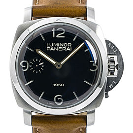 Panerai Luminor 1950 PAM00127 Mens Automatic 'Fiddy' Special Edition SS 47mm