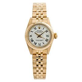 Rolex Datejust President 6917 Womens Jubilee Automatic Watch 18K YG 26mm