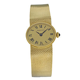 Ladies Tiffany & Co. & Chopard Rare Vintage 18K Gold Mechanical Watch