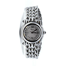 Chopard Happy Sport Diamond Stainless Steel Watch 278250