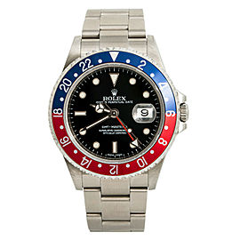 Rolex GMT-Master II 16710 2006 Mens Automatic Watch Pepsi Stainless Error Dial