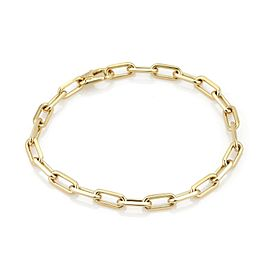 Cartier Santos 18k Yellow Gold Long Oval Links Bracelet