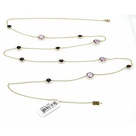 Ippolita Rock Candy Iolite Amethyst Garnet 18k Gold Necklace 42""