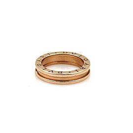 Bulgari B.zero1 One Band Ring in 18k Rose Gold Ring Size US 6.5