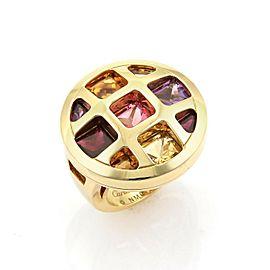 Cartier Pasha de Cartier Gem 18k Yellow Gold Ring Size 50 US 5 w/Polish Paper