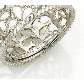 Buccellati Filidoro Sterling Silver 9mm Mesh Band Ring