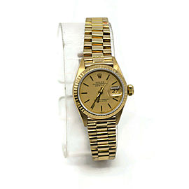 Rolex Datejust 18K Yellow Gold Watch 6917