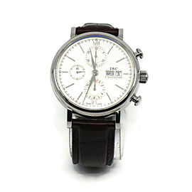IWC Portofino Chronograph Stainless Steel Watch 3910