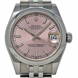 Rolex Datejust 31mm 178240 Stainless Steel Pink 2015