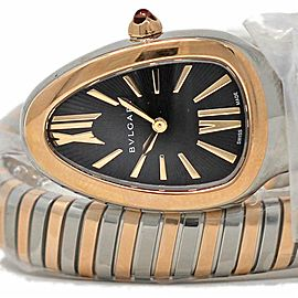 Bvlgari New SERPENTI SP35BSPG.1T Steel Rose Gold Quartz