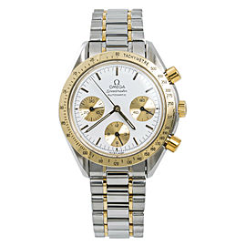 Omega Speedmaster Reduced 175.0033 Mens Automatic Watch 18k Two Tone 39mm