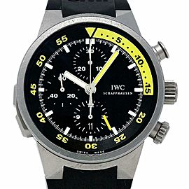 IWC IW372304 Aquatimer Split Minute Chronograph Titanium Black