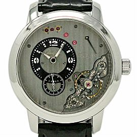 Glashutte PanoInverse XL 66-06-04-22-05 42mm Stainless Steel Grey