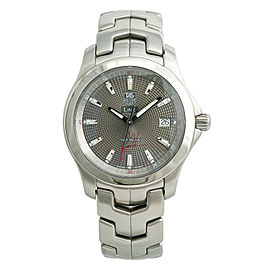 Tag Heuer Link Tiger Woods Limited Edition WJF2113 Mens Automatic Watch SS 38mm