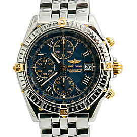 Breitling Crosswind B13355 Blue Dial Mens Automatic Watch With Box & Papers 43mm