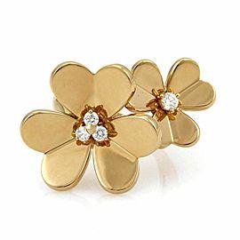 Van Cleef & Arpels FRIVOLE Diamond 18k Gold Ring