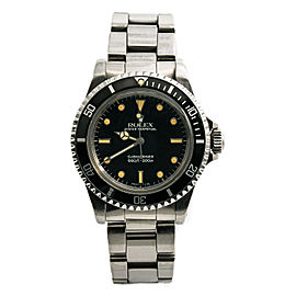 Rolex 1978 Submariner 5513 Unpolished Vintage Watch Gloss Patina Dial 40MM