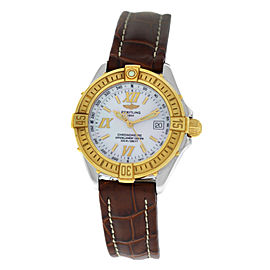 Breitling Starliner D67365 Steel Gold MOP Quartz 31MM Watch