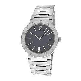 Unisex Bulgari Bulgari BB33SS Steel Date 33MM Quartz Watch