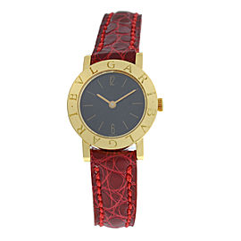 Ladies Bulgari Bulgari G1886.4 18K Gold 23MM Quartz Watch