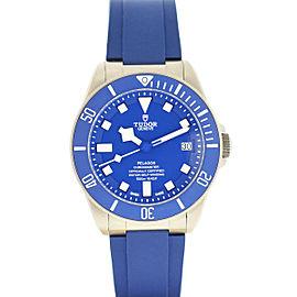 Tudor Pelagos 25600 Blue Dial Titanium Automatic Men's Watch