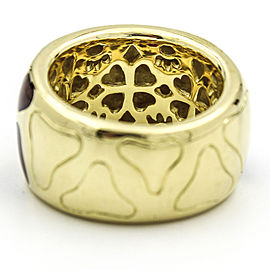 Roberto Coin 18k Yellow Gold Giraffe Enamel Band Ring