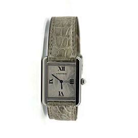Cartier Tank Solo Stainless Steel Watch 2716
