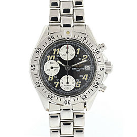 Breitling A13035.1 Chronograph Colt Black Dial Stainless Steel Men's Watch