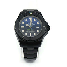 Rolex Sea Dweller Deep Sea Blue Bamford Black Stainless Steel Watch 116660