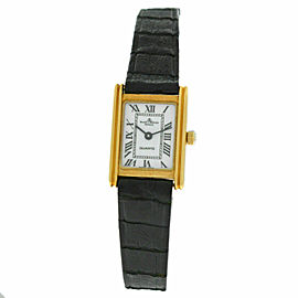 Ladies Baume & Mercier Lady 18505 18K Solid Yellow Gold Quartz 16MM Watch