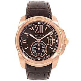 Cartier Date W7100037 42mm Mens Watch