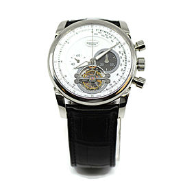Parmigiani Tondagraph Tourbillon 18K White Gold Watch PF601712.01