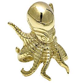 Octopus 10k Yellow Gold Fashion Ring