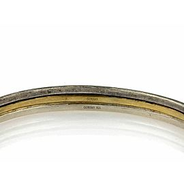 GURHAN Skittle 24k Gold & Sterling Silver Bangle 8""