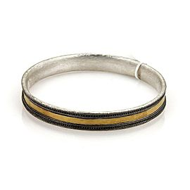Gurhan Lancelot 24k Gold & Sterling 9mm Bangle